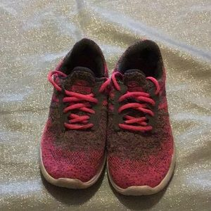 Pink and Gray Sneakers